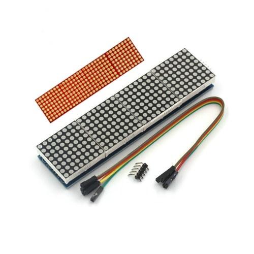 MAX7219 Dot Matrix Módulo SCM de control de pantalla 4 en 1 para Arduino Raspberry Pi PIC Pi ARM