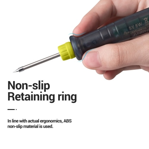 ANENG LT002 USB Electric Soldering Iron Adjustable Temperature DC 5V 8W Welding Soldering Repair Tool