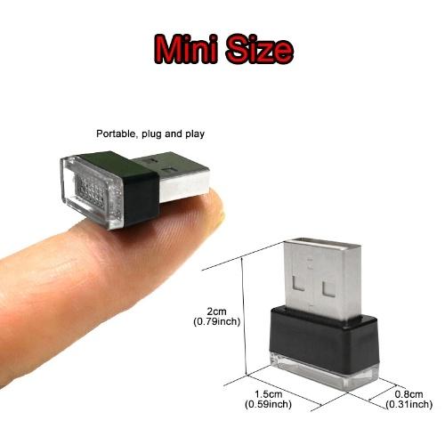 Mini USB flexible LED luz lámpara