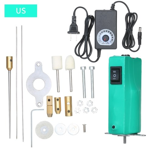 AC110V-120V / 3.5W Power Rotary Tool Handheld Electric Glue Remover Tool Set Polystyrene Styrofoam Foam Cutter Cutting Carving Pen Tools Kit Phone Screen Repair Adhesive Removing Cleaning Machine Kit with 2PCS Wool Felt Wheel + 1PC Grinding Wheel