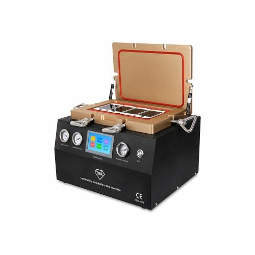 Multi-functional Intelligent OCA Laminating Bubble Removing Machine Touch Sytem Operation Built-in Vacuum Pump Air Compressor AC110V
