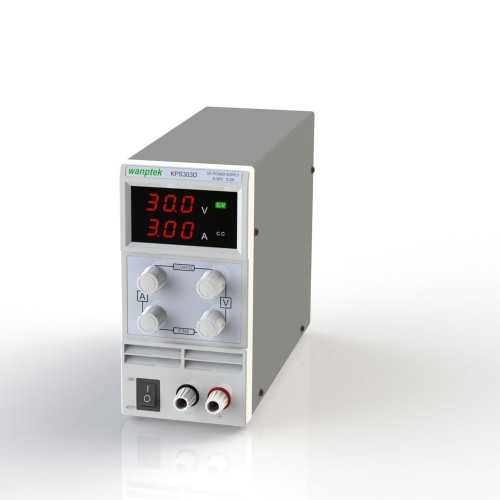 Переключение отображения 3 цифр LED 0-30V 3A/5A/10А Mini DC питания точности переменной регулируемые AC 110В/220В 50/60 Гц