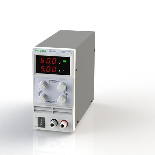 Switching Display 3 Digits LED 0-60V 2A/3A/5A Mini DC Power Supply Precision Variable Adjustable AC 110V/220V 50/60Hz