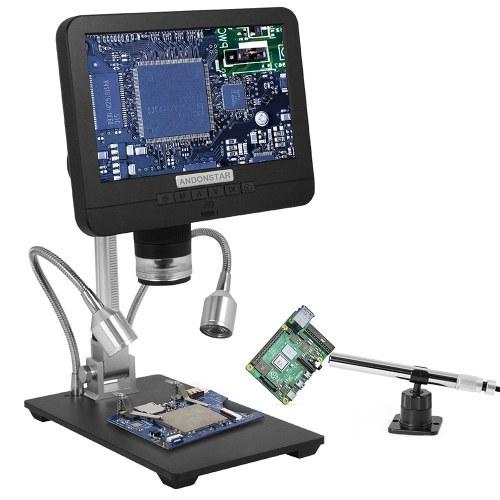 7In 2.0MP 200Xデジタル顕微鏡工業用検査電子顕微鏡