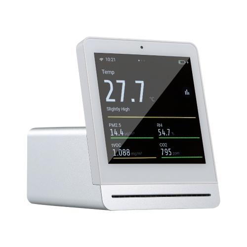 多機能大気質検出器ホームオフィス学校使用デジタルディスプレイPM2.5 / tVOC / CO2 / AQI /温度/湿度モニター