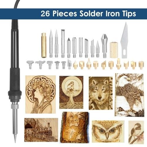 60W 220V Electric Soldering Iron Plastic Welding Tool Kit