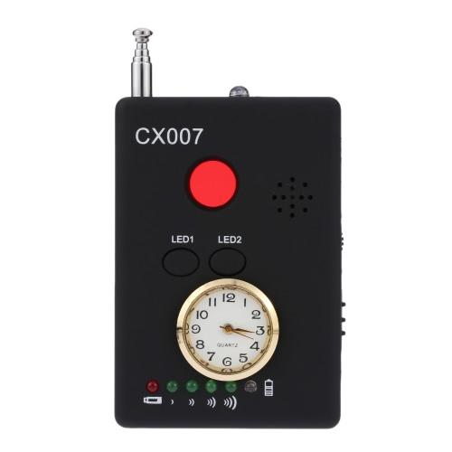Полный спектр ВЧ сигнала беспроводной радио детектор камеры Автоматическое определение Многофункциональный Tracer Finder 1MHz-6.5GHz Диапазон Регулируемая чувствительность