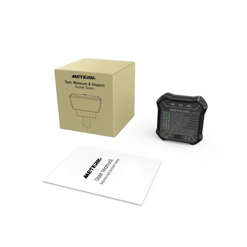 Meterk Advanced GFCI Electric Socket Tester