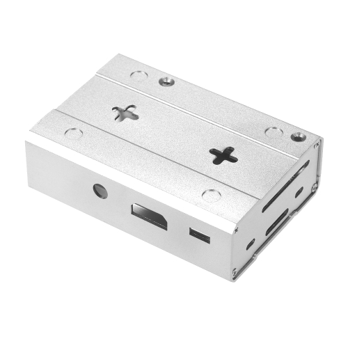 ラズベリーパイ2 Pi 3モデルB&PiモデルB +ハンマードリルビットのためのアルミニウム合金金属保護ケース丸いシャンクチゼル250mm