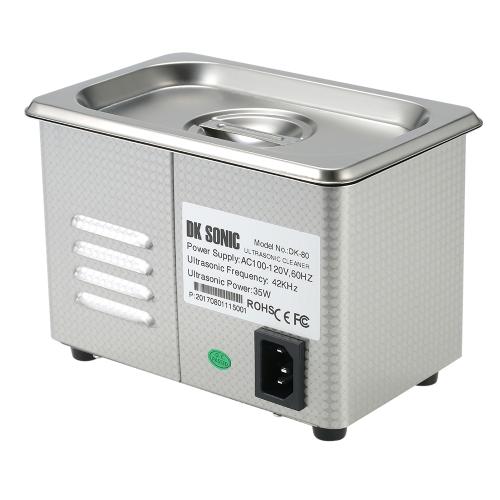 0.8L Stainless Steel Household Digital Ultrasonic Cleaner