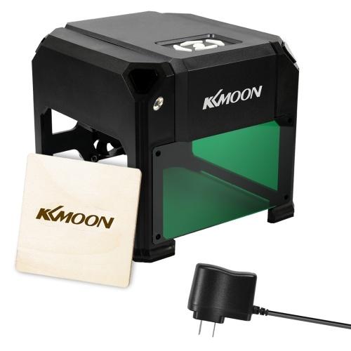 KKmoon DIY Compact Desktop Laser Engraving Machine 2000mW