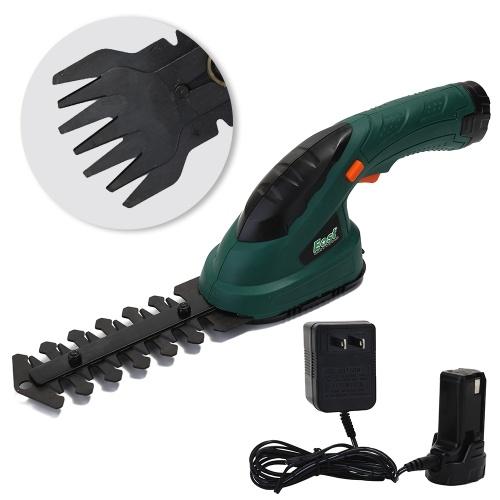 3,6 В 2-в-1 Многофункциональный Аккумуляторный Ножницы для Измельчения Травы Аккумуляторная Электрическая Газонокосилка Садовые Инструменты