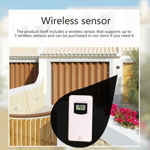 Multifunctional Color WiFi Weather Station APP Control Smart Weather Monitor