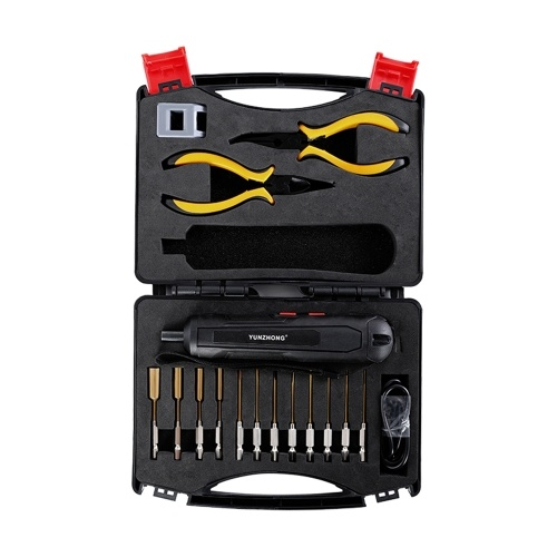 Portable Electric Screwdriver Six Gear Adjustable Torque Rechargeable Electric Screw Driver Set
