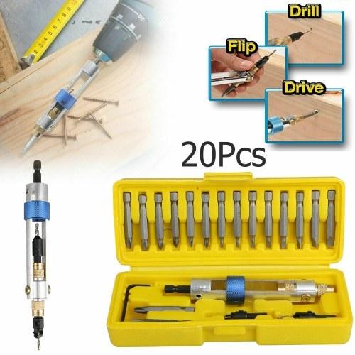 Без клейма 20PCS / Set Half Time Drill Высокоскоростная дрель Многофункциональная отвертка Инструменты