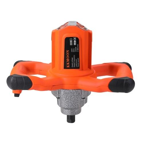 KKMOON 2300W Industrial Grade Mixer 6 Gear Adjustable Speed Handheld Paint Cement Plaster Mortar Coating Mixer Putty Powder Mixing Machine