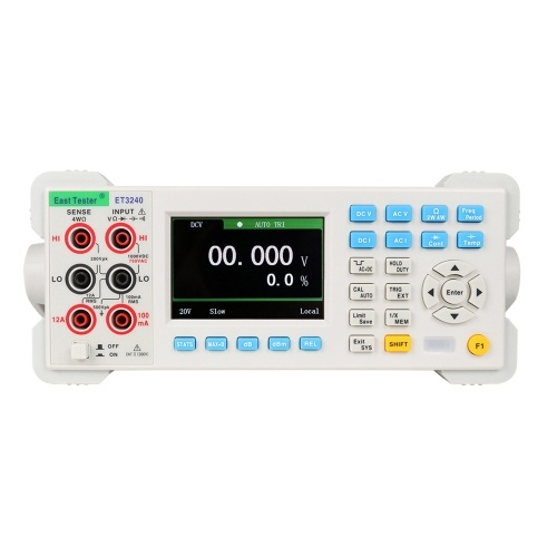 ET3240 Automatic 22000 Counts Benchtop Digital Multimeter with 3.5 Inch TFT Large Clear Screen High Accuracy Desktop Multimeter