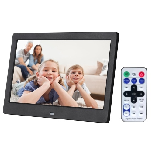 10.1 Inch High Definition 1280*800 Full Function Digital Photo Frame Electronic Album Picture Music Video