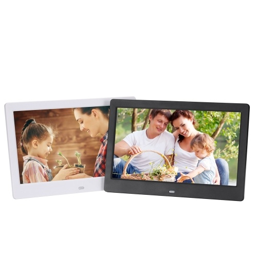 10.1 Inch High Definition 1280*800 Full Function Digital Photo Frame Electronic Album Picture Music Video фото