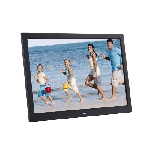 Videocamera digitale ad alta definizione da 15 pollici LCD ad alta definizione 1280 * 800 Cornice per foto digitali Album di foto video musicali