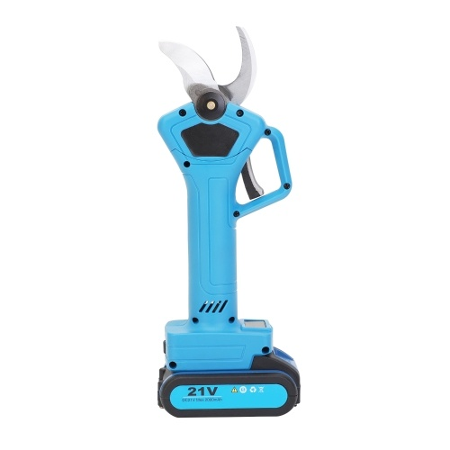 Multipurpose Cordless Electric Scissor Rechargeable Electric Scissors Cutter Shear with 21V Lithium Battery Display Screen Cutting Tool for Cutting Twig Leather Fabric Cloth