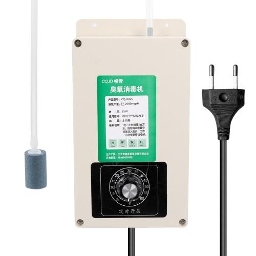 Ozonizzatore portatile multifunzionale di sterilizzazione di disinfezione dell'ozono del depuratore d'aria domestico 2000mg un'ora
