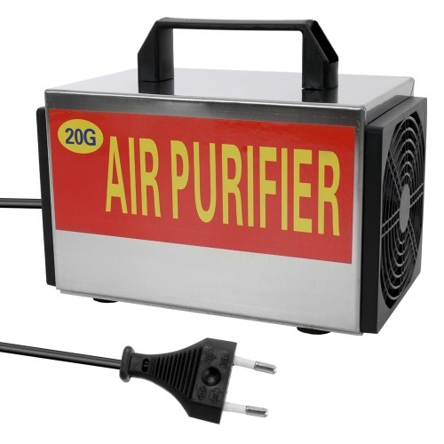 20G Generator Ozone Machine Tablets Air Purifier Ozonizer with Timing Switch Purifier Ozonizer Sterilizer Ozonator Machine