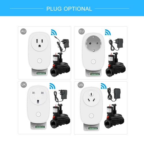 Smart Irrigation WiFi Timer Automatic Lawn Sprinkler Controller System