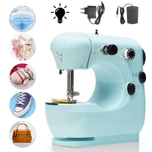 Mini Sewing Machine Multifunction Electric Micro-Sewing Machin