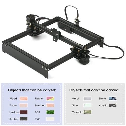 Laser Engraving Machine Off-Line Control Desktop DIY Laser Engraver Cutter Laser Logo Mark Printer Working Area 280*230mm EU Plug