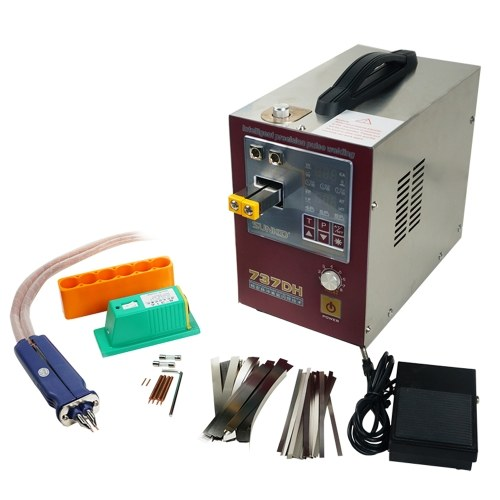 SUNKKO737DH Mini High Precise Induction Delay Pulse Spot Welding Machine with Foot Control Pedal