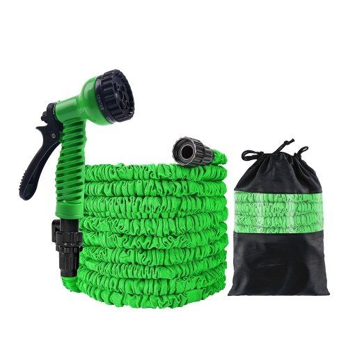 75FT Garden Hose Upgrade Expandable Magic Flexible Water Hose Plastic Hoses Pipe