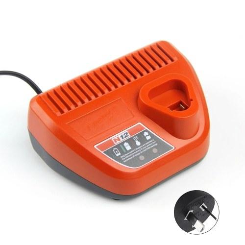 110-240V Li-ion Battery Charge Device for Milwaukee 48-11-2401 48-11-2402 C12 B C12 BX M12