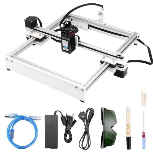 30W Engraving Machine Off-line Control Desktop DIY Engraver Logomark Printer with 280*230mm Large Working Area