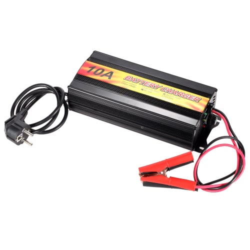 Professional Top Quality High Frequency Smart 12V Lead Acid Battery Charger for Car and Motorcycle AC220~240V