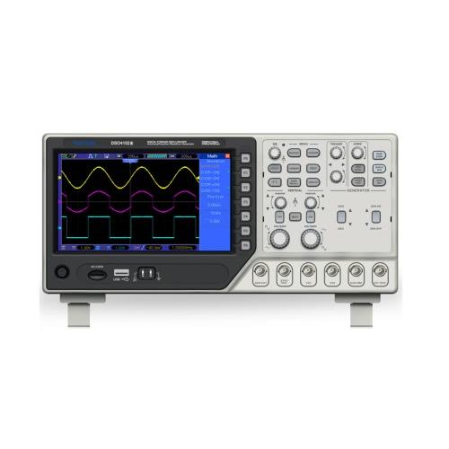 Professionnel certifié Mory DSO4102S Oscilloscope à mémoire numérique 2 canaux 100MHz 1GSa/s 12 bits 4nS/div-80 s/div