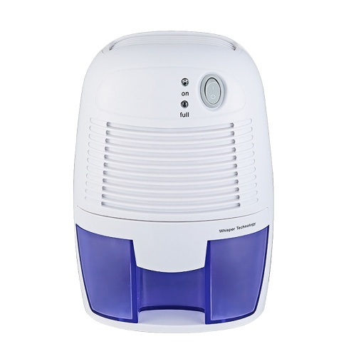 Mini Quiet Dehumidifier for 100 sq. ft with 250ml/D Dehumidification Capacity and 500ml Water Tank Electric Plug-in Peltier Dehumidifier