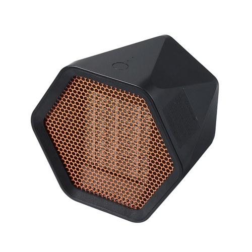 Mini Fan Heaters Hexagon Electric Heaters Office Warmer Household Room Heating Fan Machine for Winter