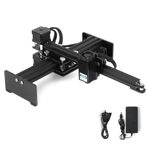Incisore laser da tavolo Macchina da intaglio portatile per incisione Mini intagliatore Area di lavoro per stampante con marchio laser fai-da-te 170 * 200mm