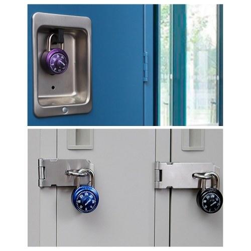 Master Lock Combination Lock Padlock Cabinet Lock Storage Units Lock Luggage Backpack Lock Purple