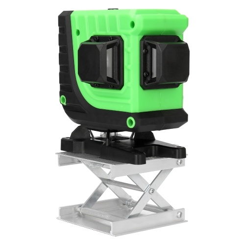 KKmoon Multifunctional 3D 12 Lines Laser Level Tool Vertical Horizontal Lines with Self-leveling Function