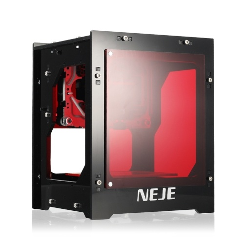 NEJE KZ 10W450nmミニレーザー彫刻機スマートブルーライトAIミニ彫刻機はオフライン操作をサポートロゴマークプリンターWindows用DIYプリント彫刻機
