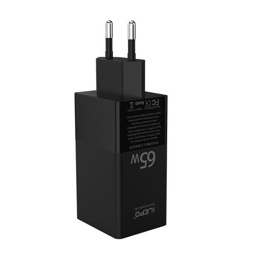 USBC充電器65W3ポートPD充電器タイプC高速充電アダプター電力供給USBCラップトップと互換性のあるUSBウォールチャージャーSarmtPhone