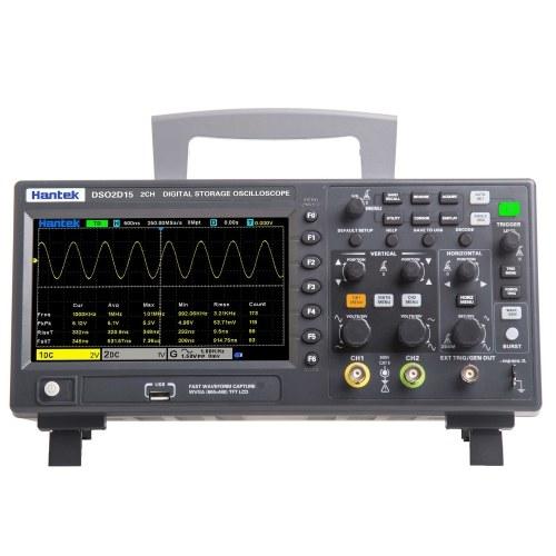 Oscillometro da tavolo del misuratore dell'oscilloscopio digitale Hantek DSO2D15