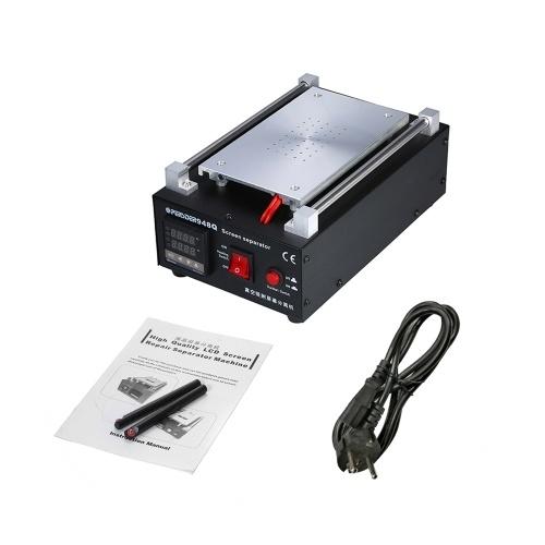 PE-948Q 7 pulgadas 220 V / 110 V 550 W Reparación de pantalla LCD Máquina separadora Pantalla de vacío de vidrio para reparación de teléfonos móviles