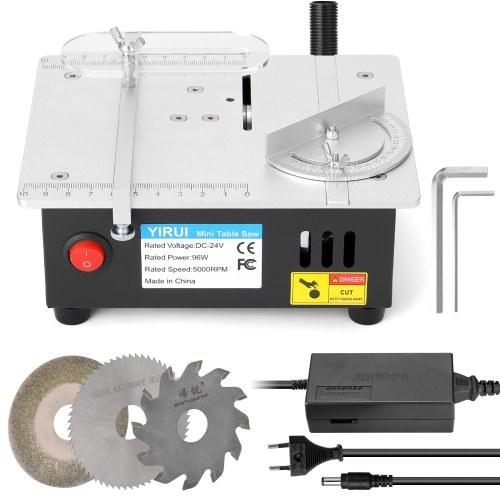 ミニ多機能テーブルソー電気デスクトップソー小さな家庭用DIY切削工具木工旋盤機