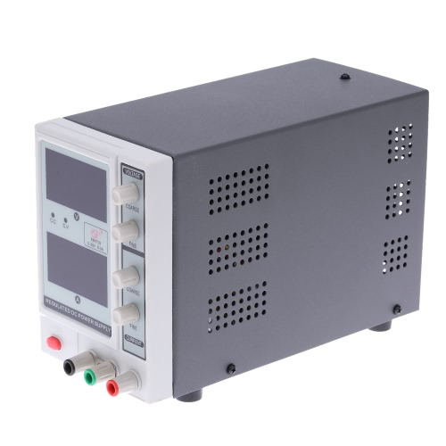 0-30V 0-3A 3 Digits Variable Adjustable Digital Regulated DC Power Supply EM1703 EU Plug