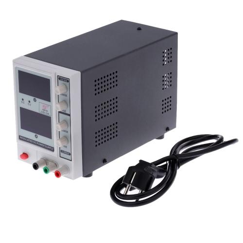 0-30V 0-5A 3 Digits Variable Adjustable Digital Regulated DC Power Supply EM1705 US Plug