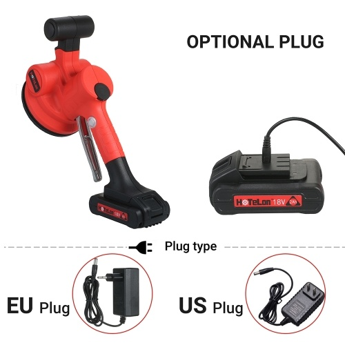 KKmoon 500~12000RPM/MIN Handheld Tile Tiling Machine Self-locking Wall Floor Tiling Machine Portable Tiles Laying Tool Electric Trowel with 130*130mm