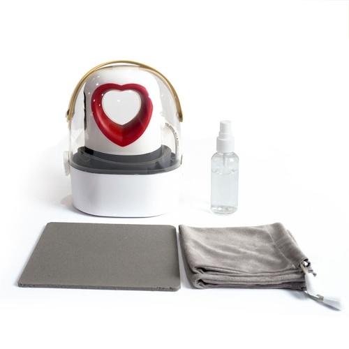 Мини-портативный термопресс в форме сердца Новая цифровая сублимационная печатная машина для футболок Перенос ткани и глажка